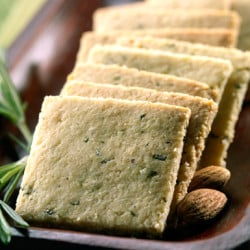 rosemary gluten free , low carb crackers, paleo